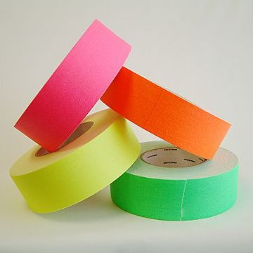 Neon gaffer tape (Green, Pink, Yellow & Orange)
